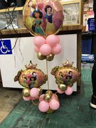 Princess Balloon Centerpieces