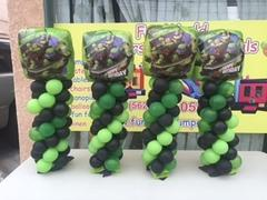 Ninja Turtle Balloon Centerpieces