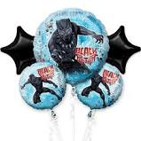 Black Panther    Mylar Balloon Bouquet