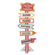 Carnival Directional Sign