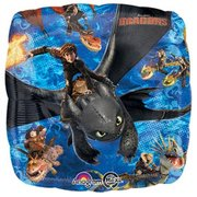 How to Train Your Dragon Mylar Balloon