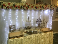 Dessert Bar Table Set Up