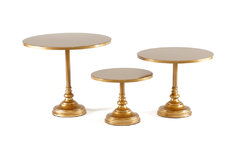 Gold Treat Dessert  Stands