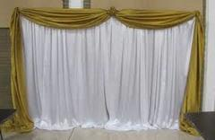 pipe and drape with top drape