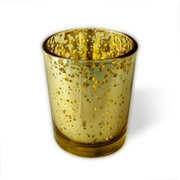 Gold Votive Candle Holder
