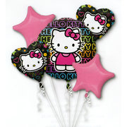 Hello Kitty Mylar Balloon Bouquet