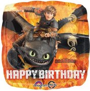 How to Train Your Dragon Birthday Mylar Balloon