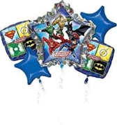 Justice League  Mylar Balloon Bouquet