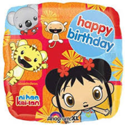 Ni Hao Kai-Lan Birthday Mylar Balloon