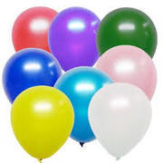 11 inch solid color balloons