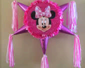 Minnie Mouse  Star Pinata