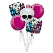 Monster High Mylar Balloon Bouquet