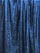 navy blue sequin pipe and drape