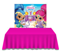 Shimmer and Shine  Dessert Table