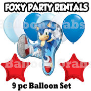 Sonic the Hedgehog  Mylar Balloon bouquet
