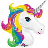 Rainbow Unicorn Jumbo Mylar
