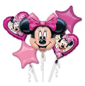 Minnie Mouse Mylar Bouquet