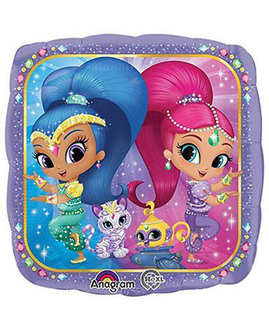 Shimmer and Shine Mylar Balloon