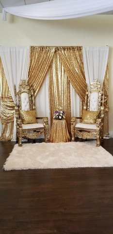 Throne Chair backdrop