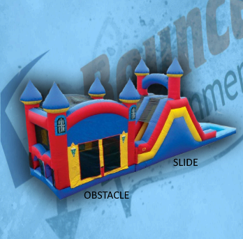Double Play C: obstacle course and slide