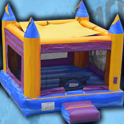 Purple Marble Bounce House