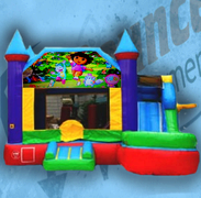 Dora Bouncy Castle Combo