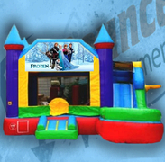 Frozen B Bouncy Castle Combo