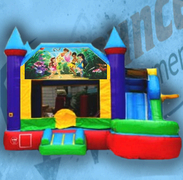 Fairy Bouncy Castle Combo