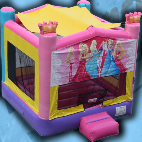 Princess Sparkle Bounce House