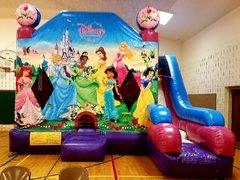 Disney Princess 7 in1 Bounce House Combo
