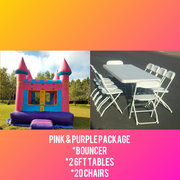 Pink and Purple Castle Special Package