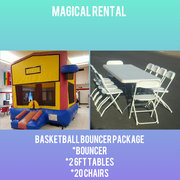 Basketball Bounce House Special Package