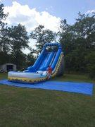 18ft Blue and White Water Slide