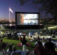 24' x 13' outdoor inflatable movie screen system