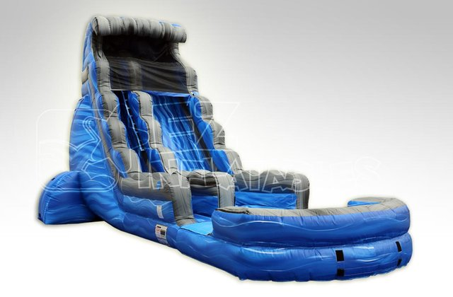 Laguna Waves Water Slide with Pool-22 FT