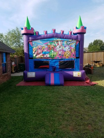 Bounce House Shopkins