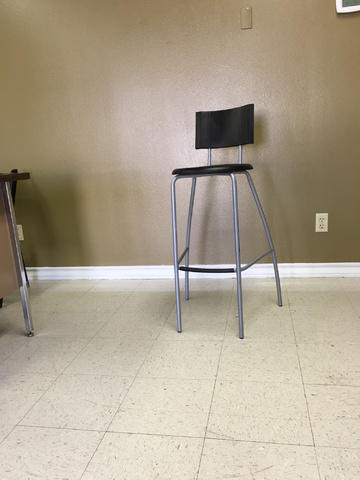Chair Bar Height Stool
