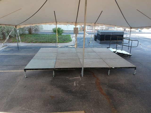 DFS Stage 12ftx24ft w/ 1 step