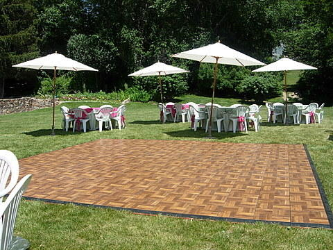 DFS Dance Floor 18ftx18ft Outdoor