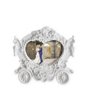 PS Wedding Carriage Photo Place Card Holder