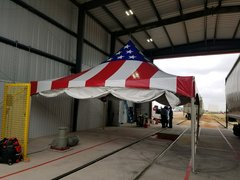 20x20High Peak American Flag Tent