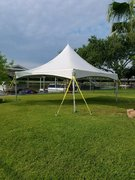 20x20High Peak Frame Tent White