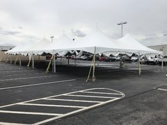 40x100 HP Frame Tent White [Five 20x40 tents]