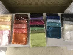 Assorted Satin Linens