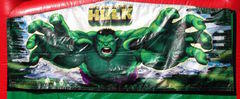 Banner Bounce House Hulk