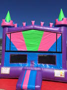 Banner Bounce House Girl