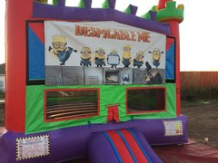 Minions Rainbow Bounce House