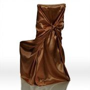 Chair cover Universal Chocolate