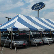 40 x 80 Blue and White Pole Tent