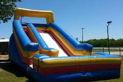 Dry Package 22ft Slide Dry and 13x13 Modular Bounce House